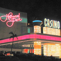 Hollywood park casino event casino bank